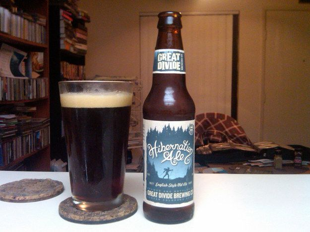 """Hibernation Ale"" from Great Divide Brewing Co. 
