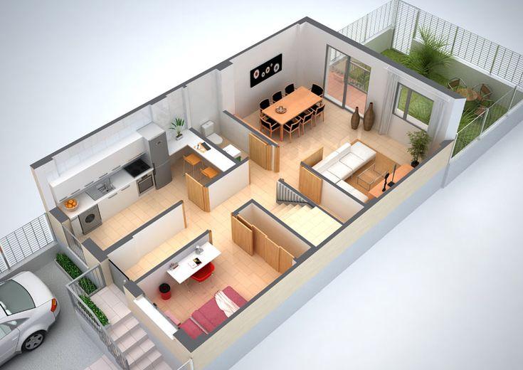 Plantas de casas em 3d gratis plantas de casas 3d e plantas - Progettare casa 3d gratis ...