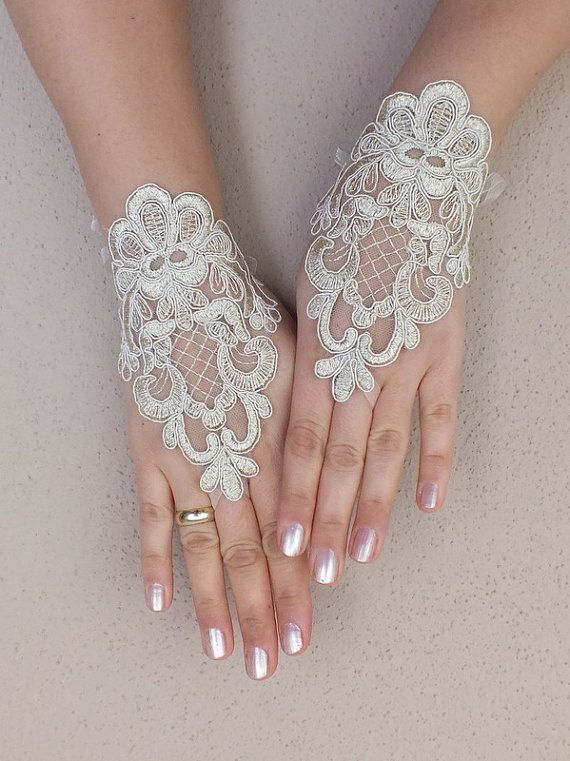 White and Gold Wedding. Bride Reception Look. Lace Bridal ...