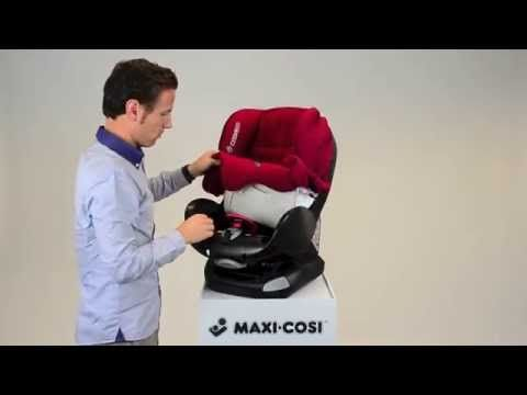 Maxi-Cosi Priori XP- How to put on the cover - YouTube