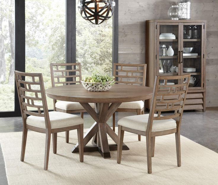 Mirabelle Round Dining Table Set by Riverside - Home Gallery Stores