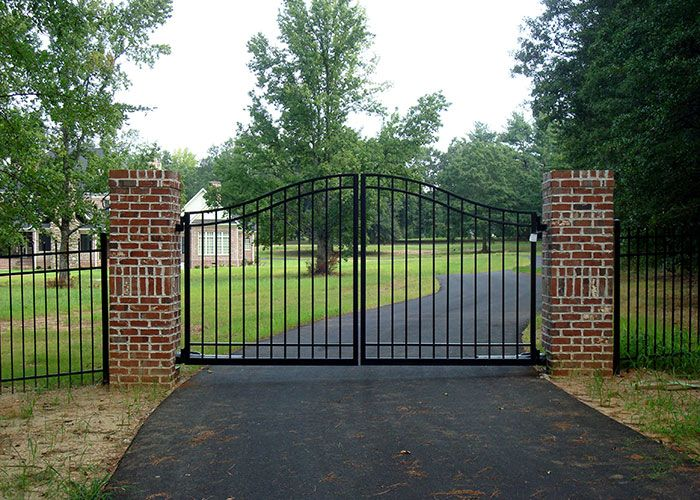 Best driveway gate images on pinterest