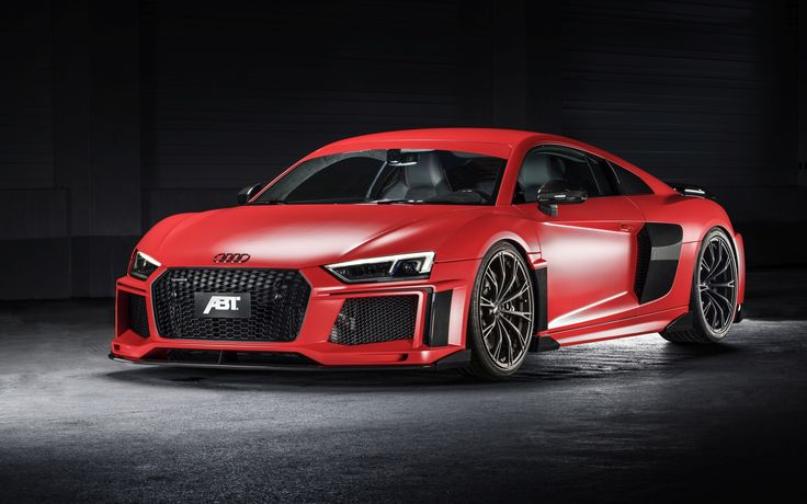 Audi Rs8, Red, Side View, Luxury, Cars