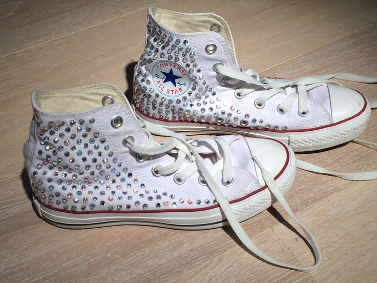 Converse All Star e Swarovski