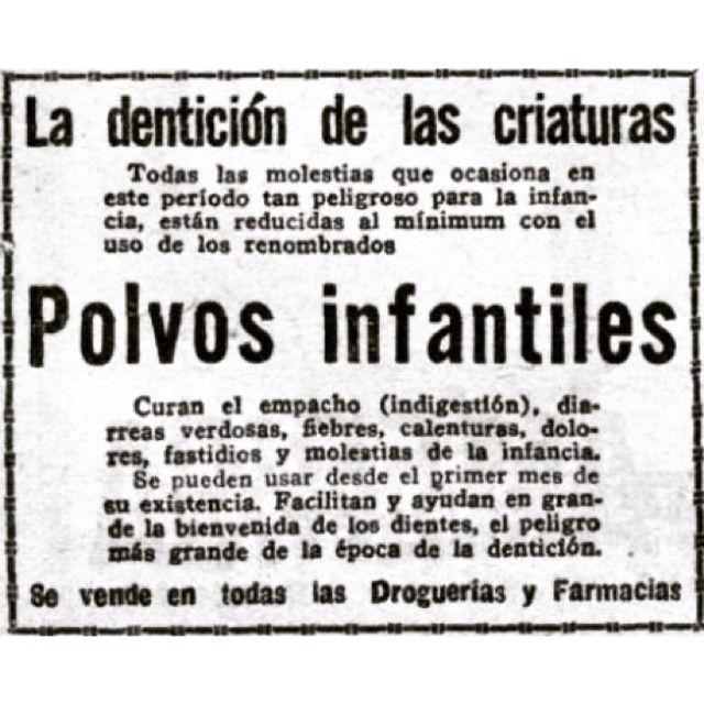 #InstaBox Denticion infantil #vintage #1920