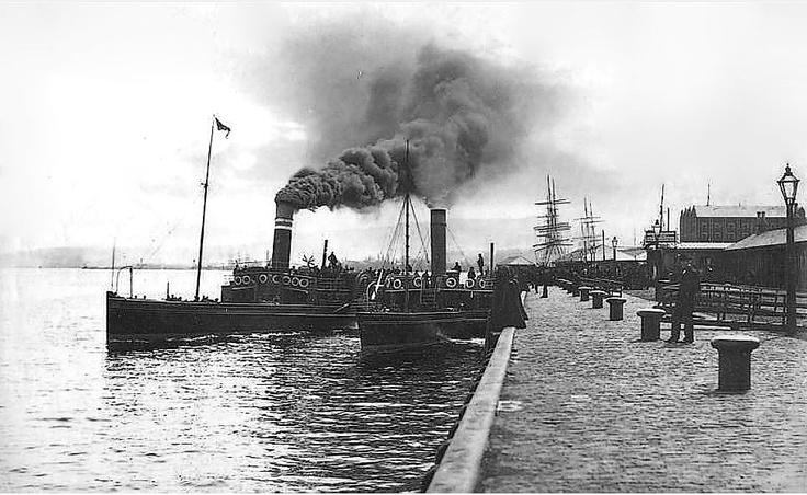 Princes Pier, Greenock, Renfrewshire, Scotland. Late 1800's