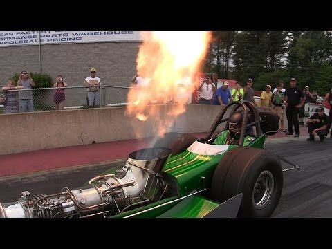 2015 Nostalgia Classic Tim Arfons Green Monster Turbine Dragster Drag Racing Videos Motorsports - YouTube