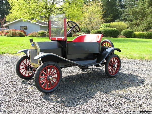 Model T Tin Lizzie Go Cart Tin Lizzie Go Carts Model T
