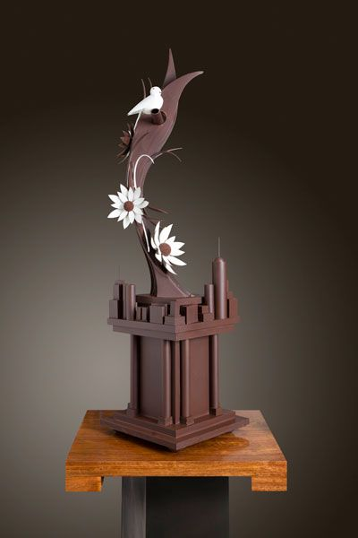 World Chocolate Masters 2013.  Jove Hubbard's showpiece (USA)
