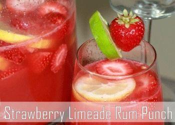 Strawberry Rum Punch