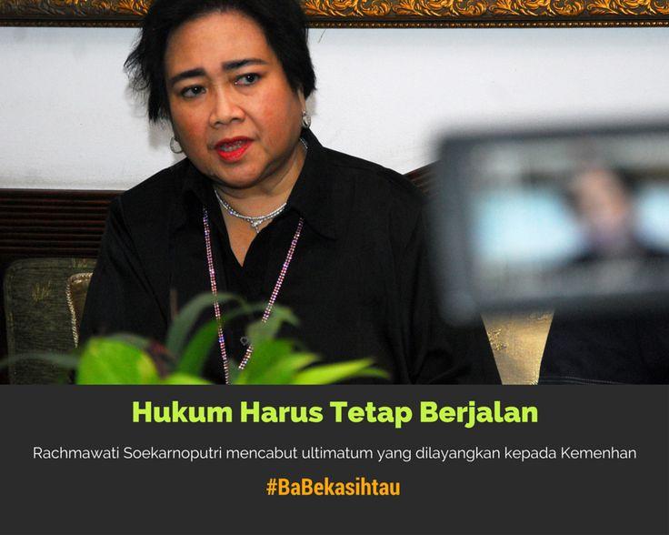 """#BaBekasihtau Rachmawati Soal""""Bebek Nungging"""": Hukum Harus Tetap Berjalan"""