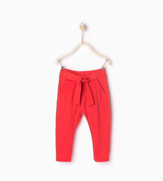 Zara hose orange
