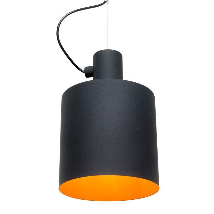 Pendant Light in White or Black 30cm Syphon Brilliant Lighting | GoLights.com.au
