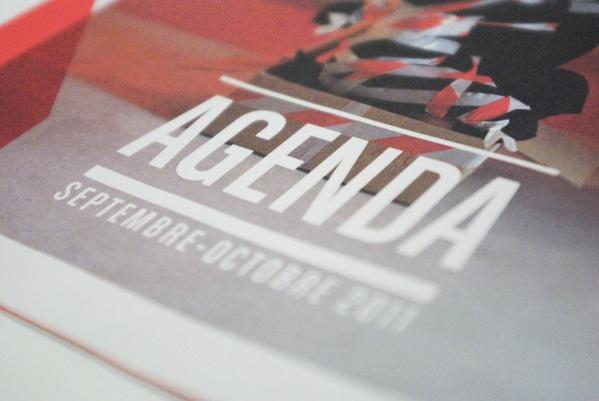 Trempolino agenda by Marine Navyy, via Behance