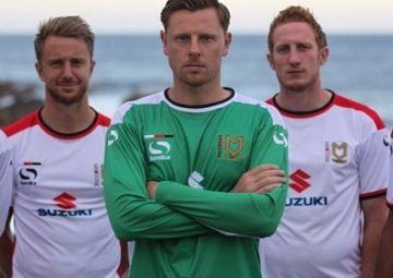 Milton Keynes Dons FC 2014/15 Sondico Home Kit