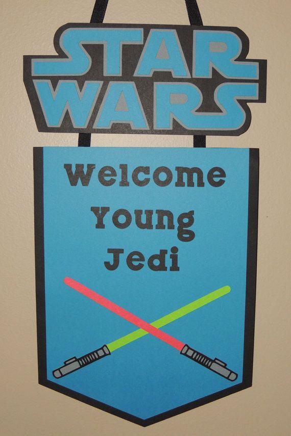 Plaque de bienvenue de Star Wars. Plaque de par ArtofEntertaining …