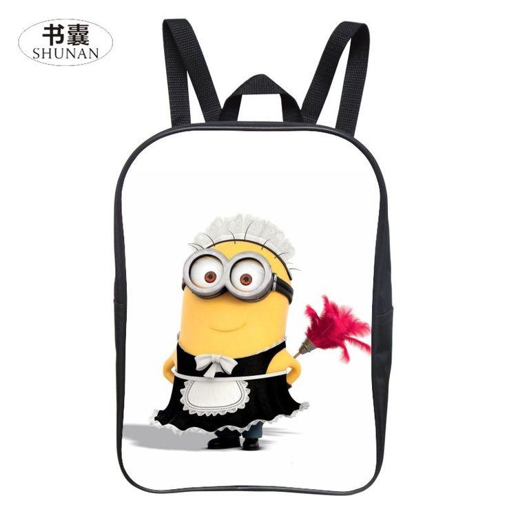 $9.29 (Buy here: https://alitems.com/g/1e8d114494ebda23ff8b16525dc3e8/?i=5&ulp=https%3A%2F%2Fwww.aliexpress.com%2Fitem%2F2016-New-12-Inches-Cool-Hero-Prints-Minions-Cartoon-Kids-Gift-Boys-Student-Bag-Children-Small%2F32786027763.html ) 2016 New 12 Inches Cool Hero Prints Minions Cartoon Kids Gift Boys Student Bag Children Small School Bags Girls Mini Backpack for just $9.29
