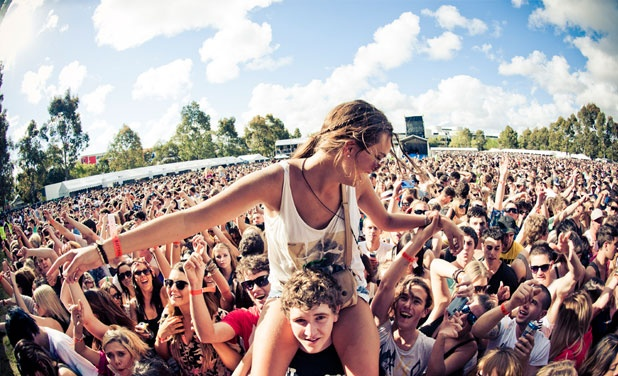 Sitting on top of the World at Perth Parklife 2011