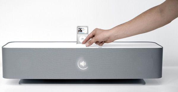 Braun iPod Dock and Speaker Concept by Tim Wieland