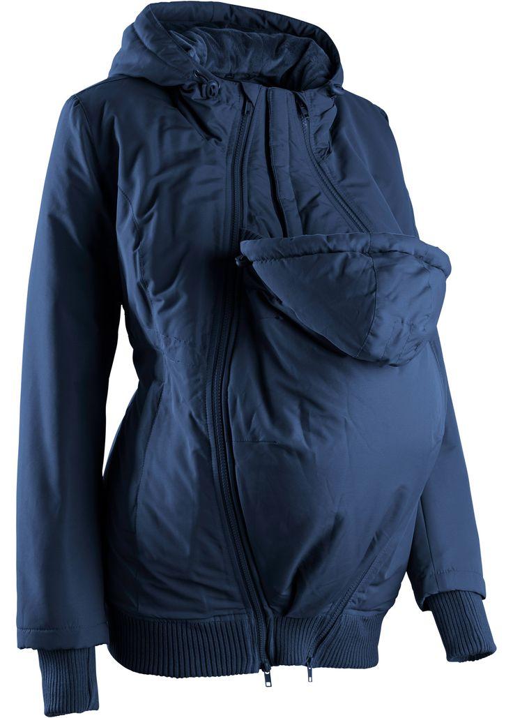Zwangerschapsjas donkerblauw - bpc bonprix collection nu in de onlineshop van bonprix.nl vanaf ? 68.99 bestellen. Deze gevoerde winterjas is afgewerkt met ...