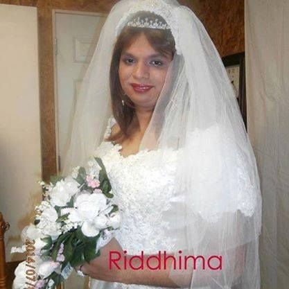 Riddhima is a young and beautiful bridal crossdresser from India.