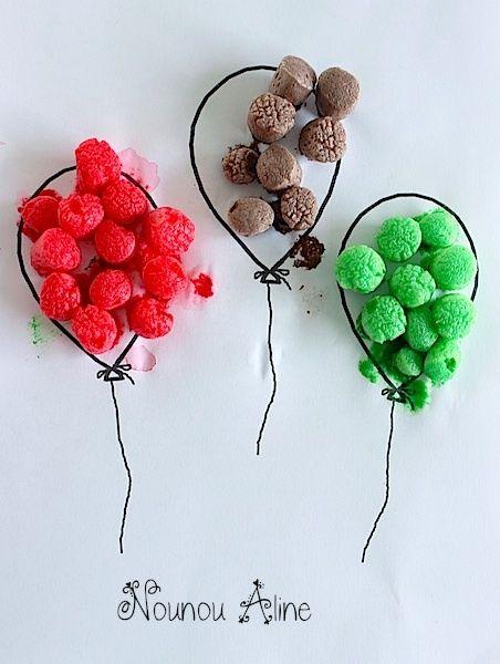 Tableau ballon playmais