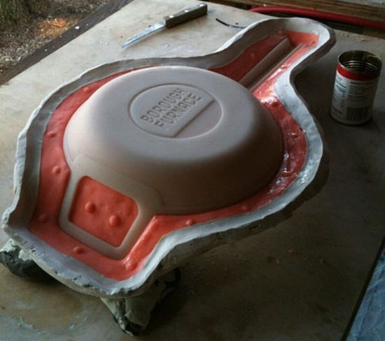 Embossed/Debossed manufacturing process kitchen ware
