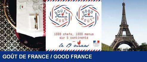 Goût de France/Good France : un repas français autour du monde - Portail public de l'alimentation
