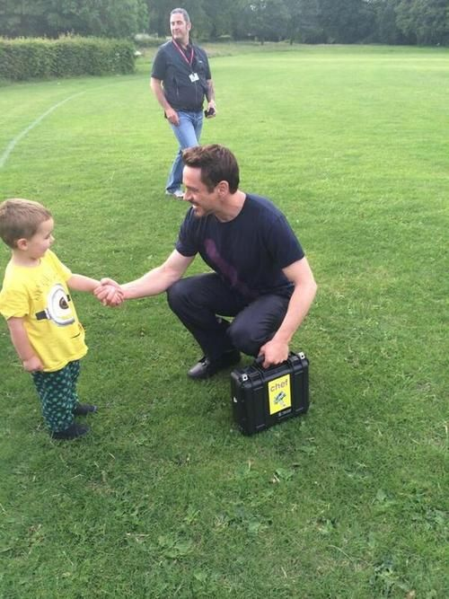 Robert Downey Jr. in Norwich, June 13, 2014.  [from SarahGrayNfk's twitter]