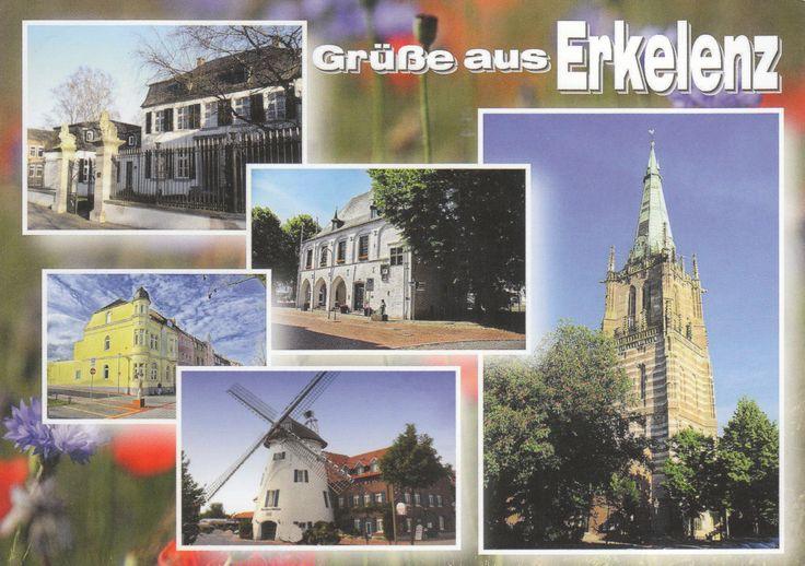 Ville d'Erkelenz en Allemagne - Distance: 695 km (432 miles) - Travel time: 11 days