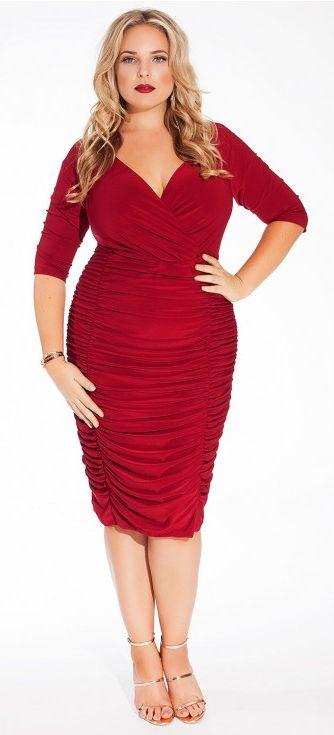 Sexy plus size dress - plus size cocktail dress