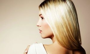 Groupon - Men's Haircut or Women's Cut with Optional Style or Color at Salon Cache - Huntington Beach (Up to 57% Off) in Huntington Beach. Groupon deal price: $15