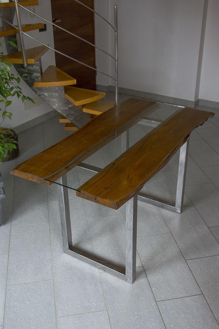 Oltre 25 fantastiche idee su tavolo in ferro su pinterest tavoli da stiro camere da cucito - Larghezza tavolo ...