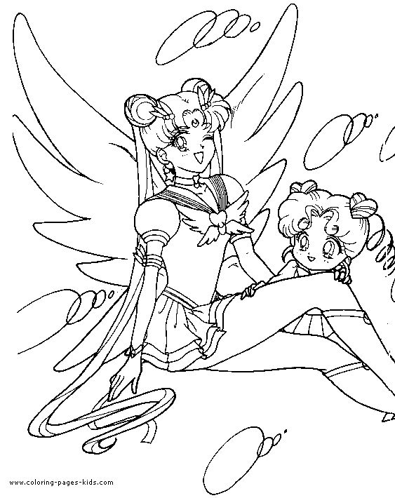 sailor moon color page coloring pages for kids cartoon characters coloring pages printable - Colouring Pages Cartoon Characters