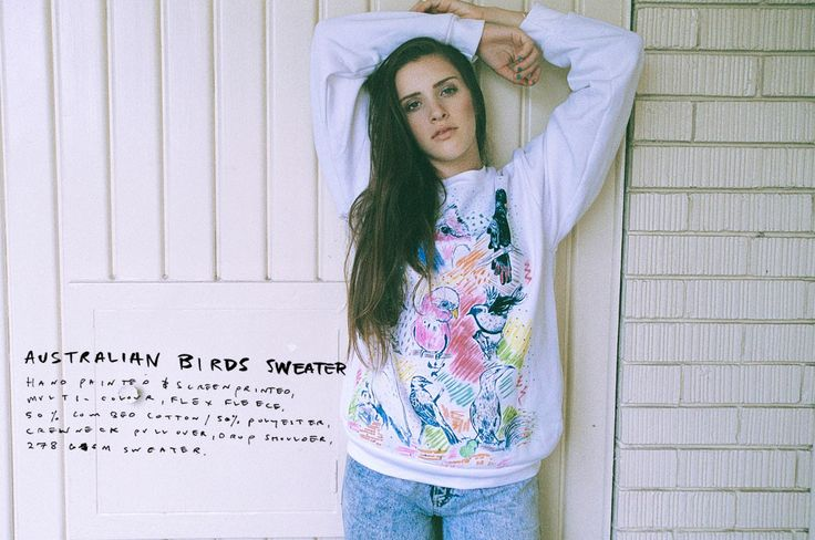 Australian Birds sweater - shop @ horseloveclothing.com  see more & connect @Horselove