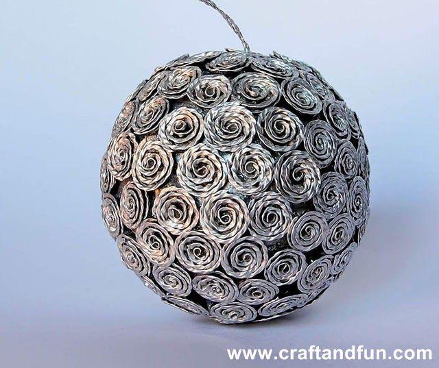 Riciclo Creativo - Craft and Fun: Il riciclo per un Natale creativo