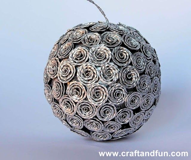 christmas decorations with recycled nespresso coffee capsules tutorial share your craft. Black Bedroom Furniture Sets. Home Design Ideas