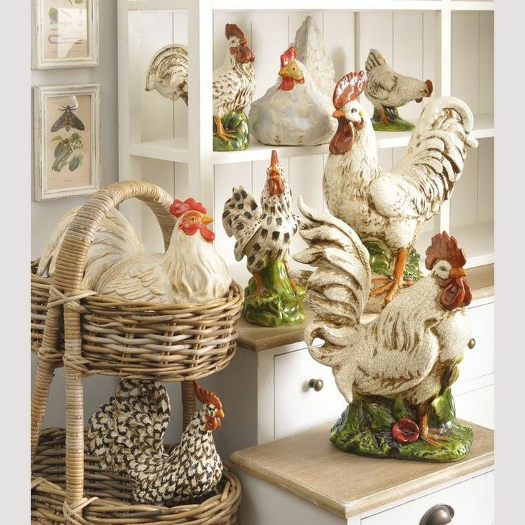 Roosters and more roosters........love it.