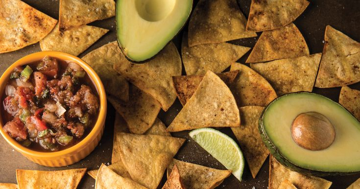 Lisa Lillien shares a recipe for baked tortilla chips.