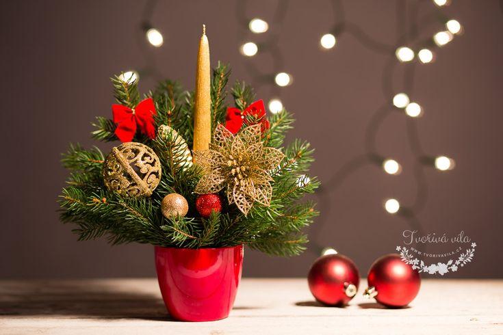 Jak vytvořit krásný voňavý vánočni svícen - super návod