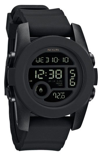 Nixon | Black | Wristwatch | Watch | Digital Watch