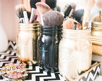 Bürstenhalter Make-up Make-up zu organisieren von OhLOLAandco