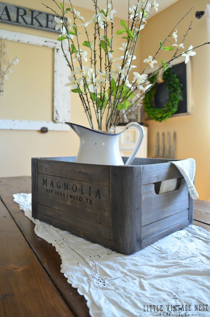Happpppy Friday my friends! Today I am sharing 5 awesome and different ways to style a wooden crate in every room in your home. Sure, you might think a wooden crate is boring, but I'm here to tell you the possibilities are endless. And wooden crates are awesome. So today I'm sharing how you can...Continue Reading