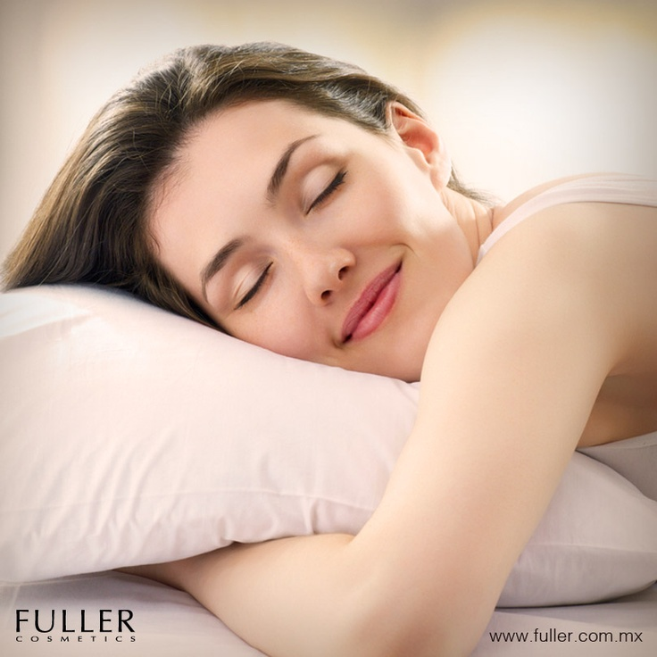 Dormir 8 horas diarias, tu secreto de belleza.