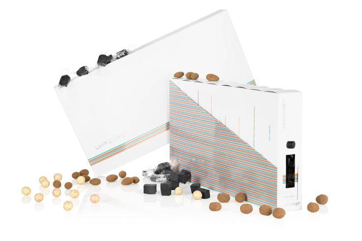 Vores 8 boks Lakridseriet gaveæske - Chokolade og Lakrids :-)
