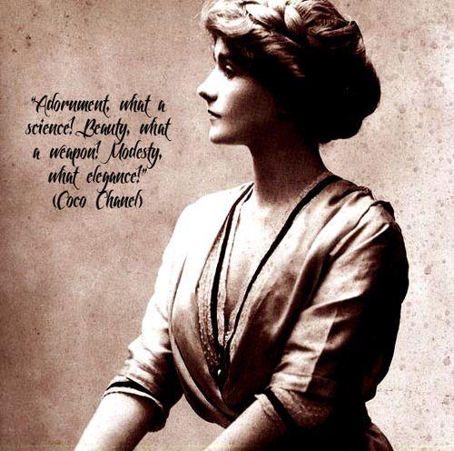Coco Chanel Famous Quotes: Coco Chanel's Fashion Statement