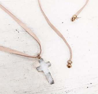 The gorgeous Deluxe Wrap Choker in Tan - Available now at tealandtala.com.au
