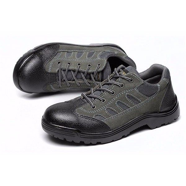 Men Suede Wearproof Toe Protecting Lace Up Mountaineering Sport Shoes ($26) ❤ liked on Polyvore featuring men's fashion, men's shoes, mens suede shoes, mens shoes, mens lace up shoes, mens suede lace up shoes and mens summer shoes