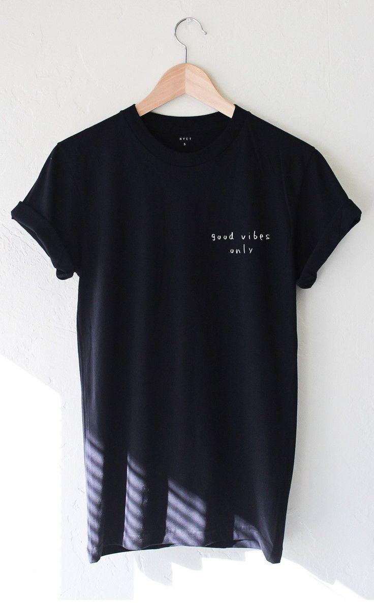 Good Vibes Only Tshirt - Black
