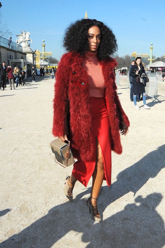 Kelly Rowland takinger her cute daughter for some shopping to the Grove Featuring: Solange Knowles Where: Paris, France When: 05 Mar 2015 Credit: WENN.com **Not available for publication in Italy**